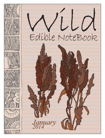 January 2013 cover 800 343x450 Wild Edible Notebook—January 2014 Release!