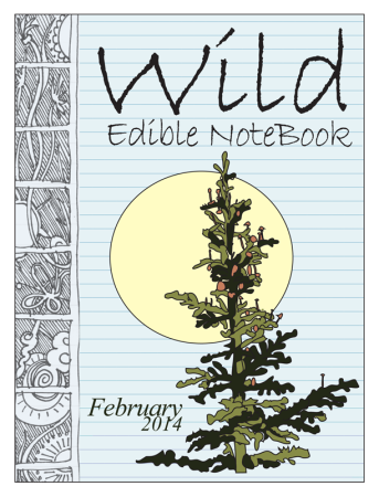 February2014 cover 800 343x450 Wild Edible Notebook—February 2014 Release!